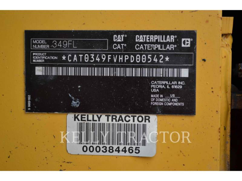 CATERPILLAR TRACK EXCAVATORS 349FL equipment  photo 6