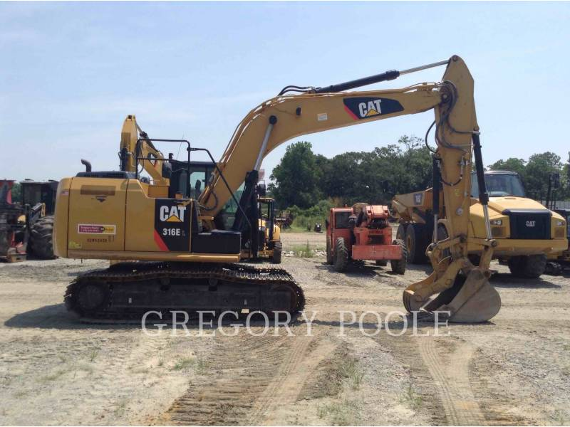 CATERPILLAR EXCAVADORAS DE CADENAS 316E L equipment  photo 8