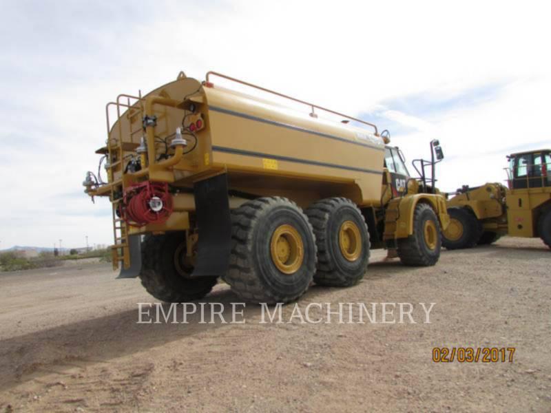 CATERPILLAR KNICKGELENKTE MULDENKIPPER 740B equipment  photo 3