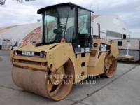 Equipment photo CATERPILLAR CB-534D VIBRATORY DOUBLE DRUM ASPHALT 1