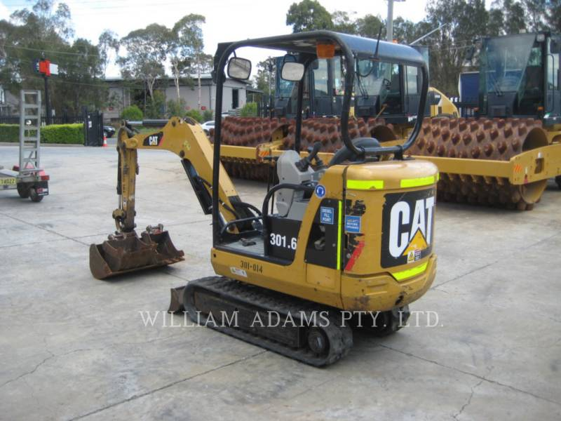 CATERPILLAR PELLES SUR CHAINES 301.6 C equipment  photo 2