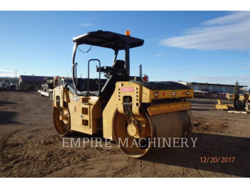 CATERPILLAR TAMBOR DOBLE VIBRATORIO ASFALTO CB54B equipment  photo 3