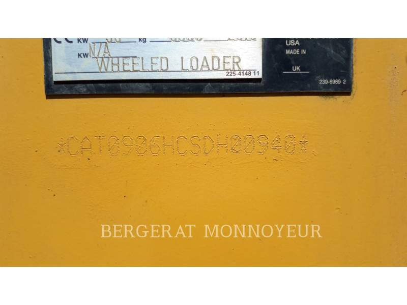 CATERPILLAR WHEEL LOADERS/INTEGRATED TOOLCARRIERS 906H equipment  photo 19