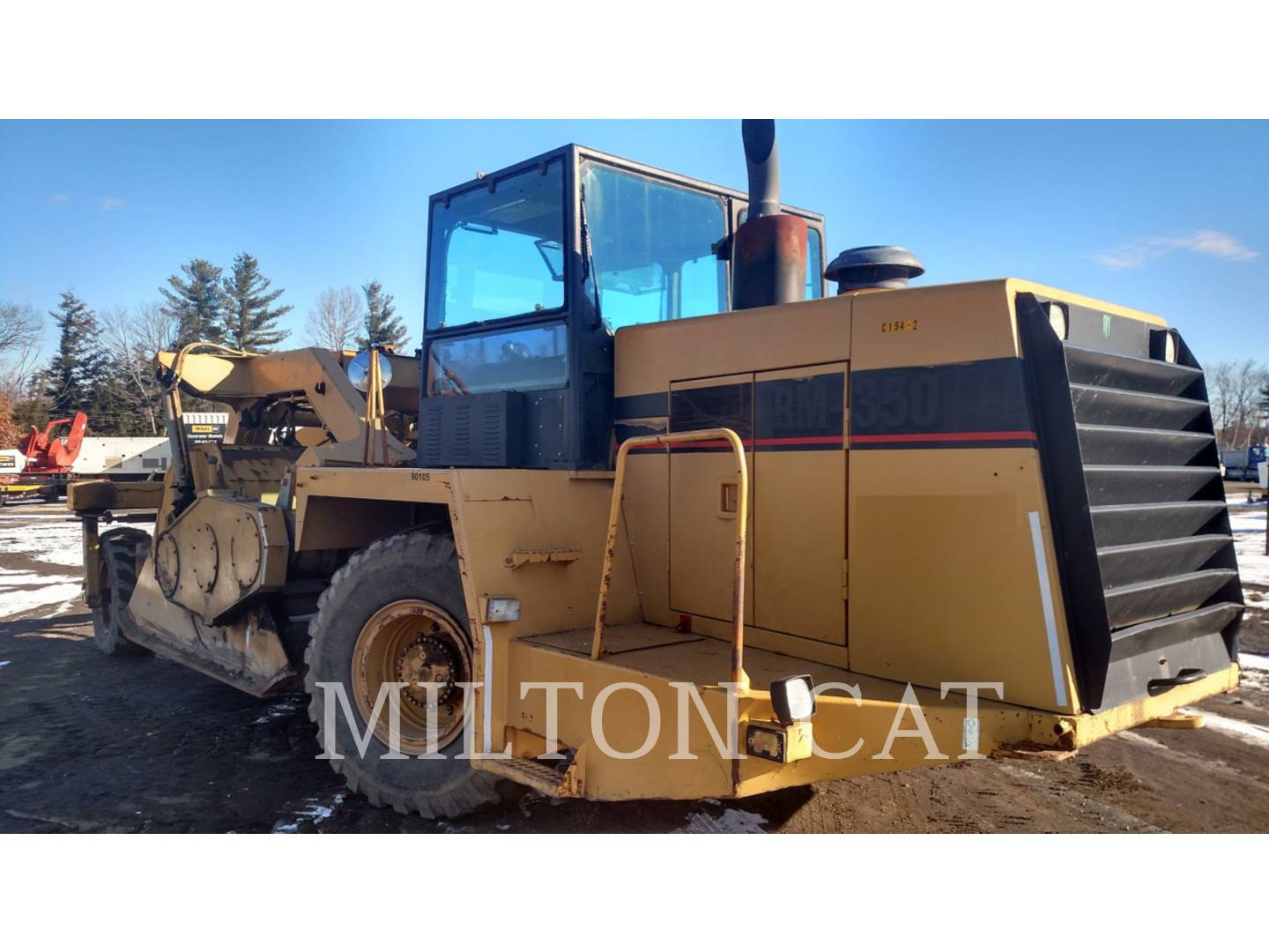 Detail photo of 1994 Caterpillar RM350 from Construction Equipment Guide