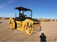 Equipment photo CATERPILLAR CB54B TRILLENDE DUBBELE TROMMELASFALTEERMACHINE 1