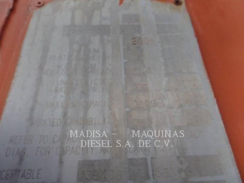 JLG INDUSTRIES, INC. LEVANTAMIENTO - PLUMA 80-HX equipment  photo 4
