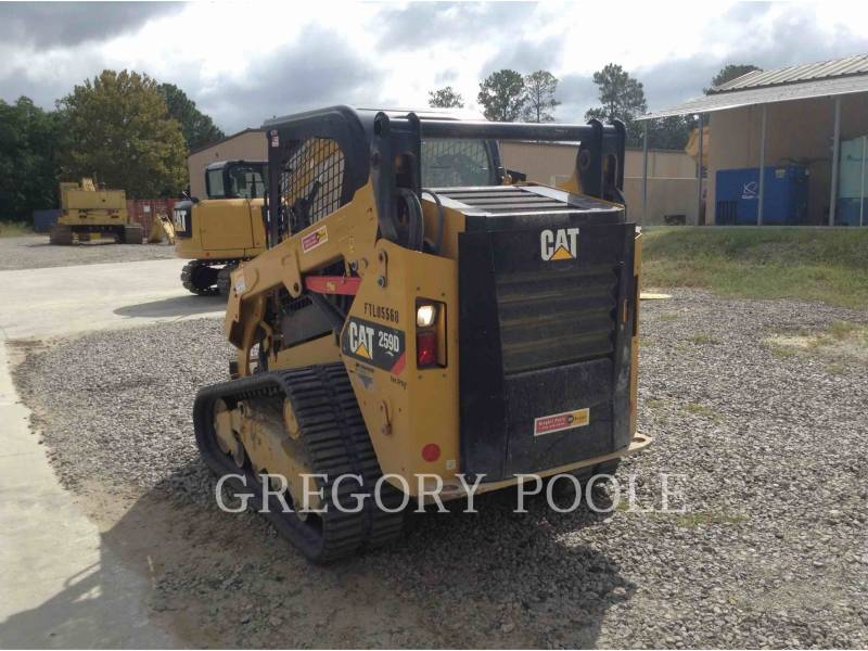 CATERPILLAR DELTALADER 259D equipment  photo 4