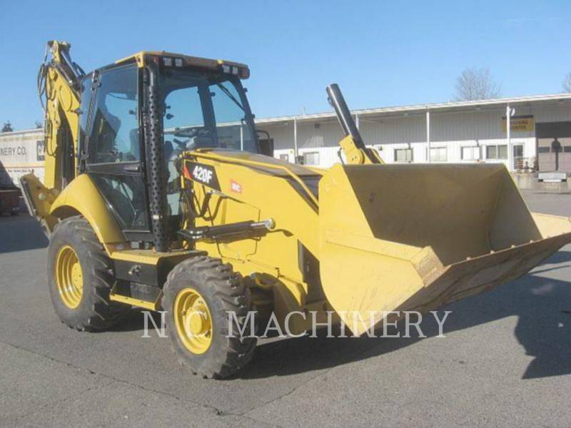 CATERPILLAR バックホーローダ 420F 4ECB equipment  photo 2