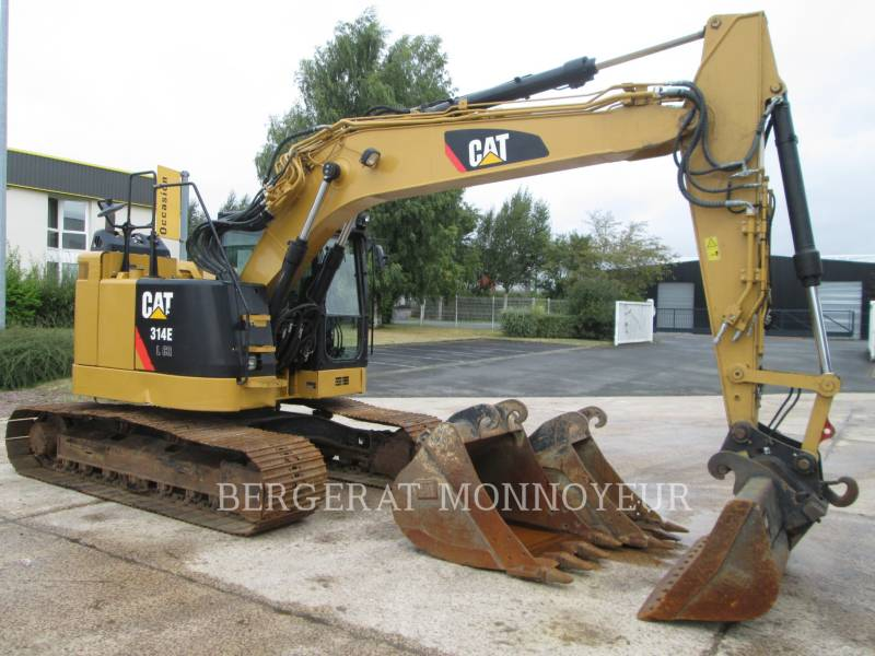 CATERPILLAR PELLES SUR CHAINES 314E equipment  photo 14