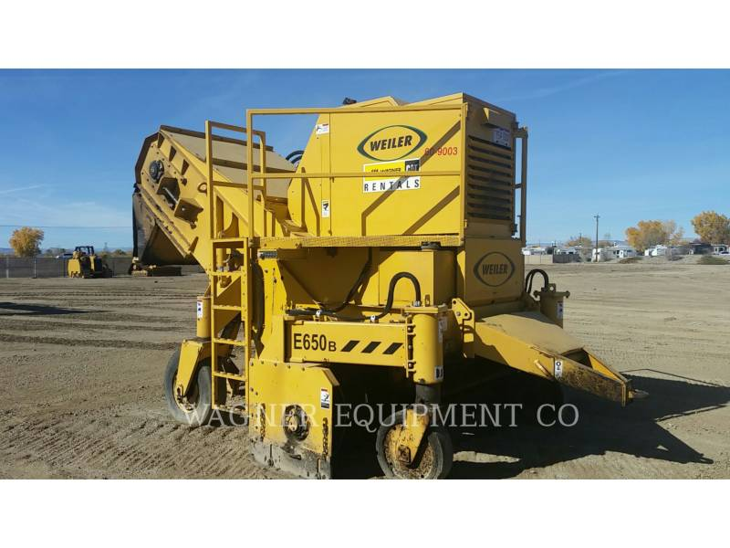 WEILER WINDROW ELEVATORS E650B equipment  photo 2