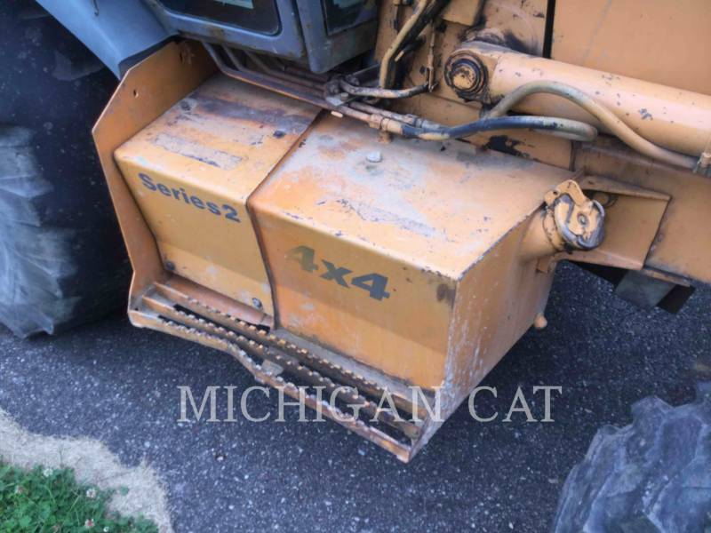 CASE BACKHOE LOADERS 580SL equipment  photo 22