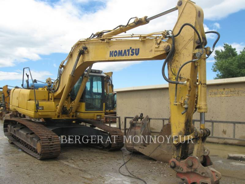 KOMATSU KETTEN-HYDRAULIKBAGGER PC240NLC8 equipment  photo 1