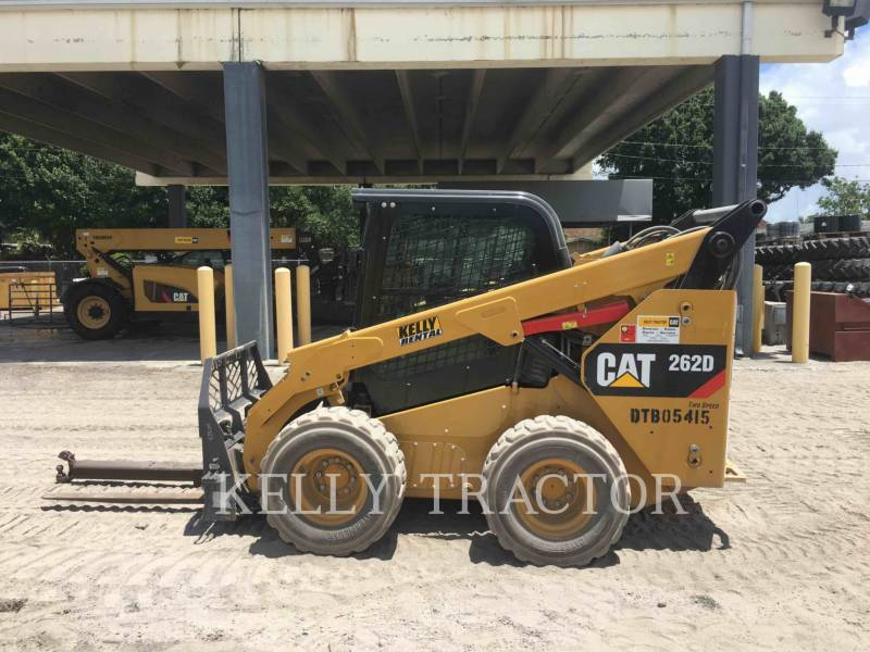 CATERPILLAR KOMPAKTLADER 262D equipment  photo 7