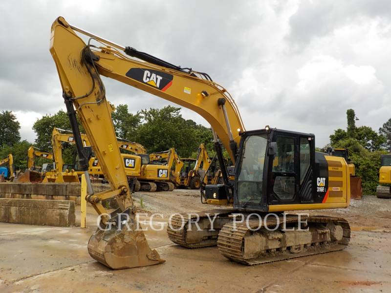 CATERPILLAR トラック油圧ショベル 316E L equipment  photo 1