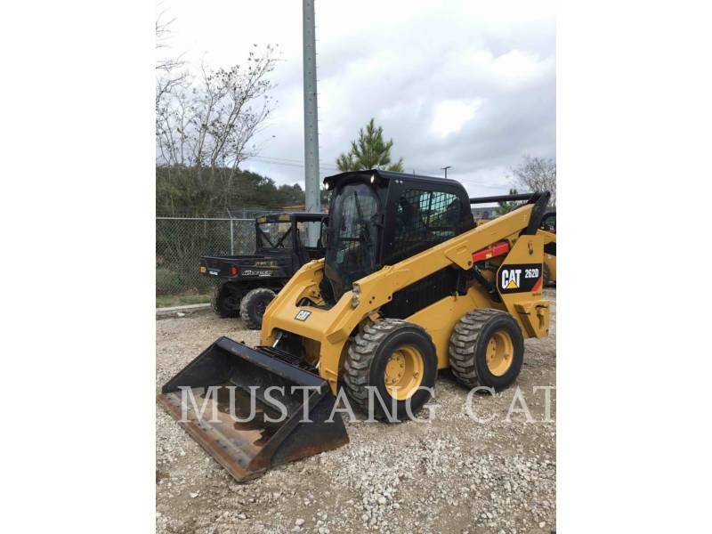 CATERPILLAR MINICARGADORAS 262D CA SF equipment  photo 1