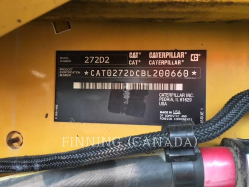 CATERPILLAR MINICARGADORAS 272D2 equipment  photo 6