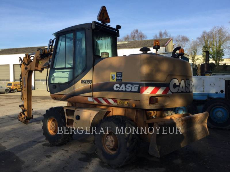 CASE PELLES SUR PNEUS WX150 equipment  photo 3