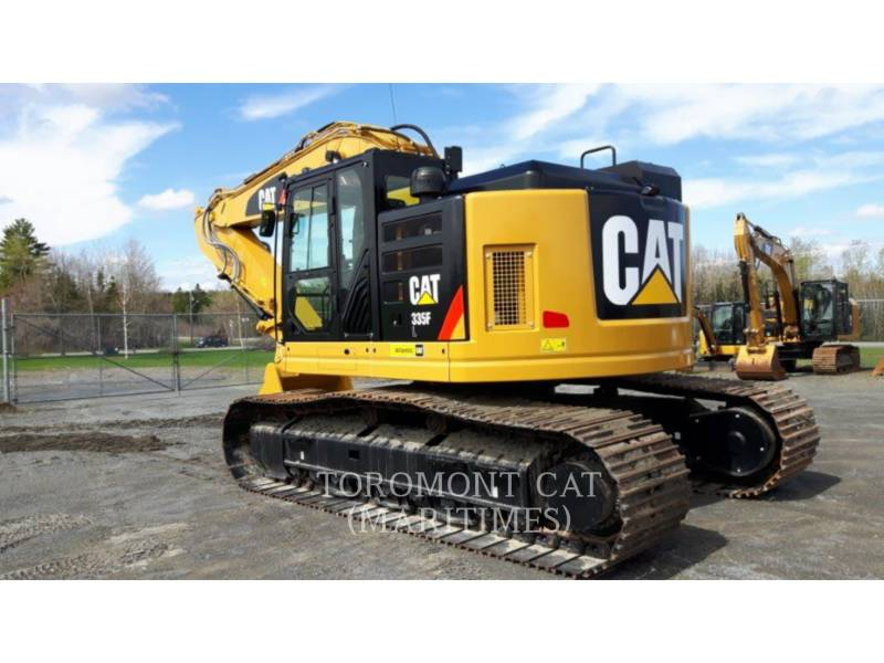 CATERPILLAR KETTEN-HYDRAULIKBAGGER 335 F L CR equipment  photo 8