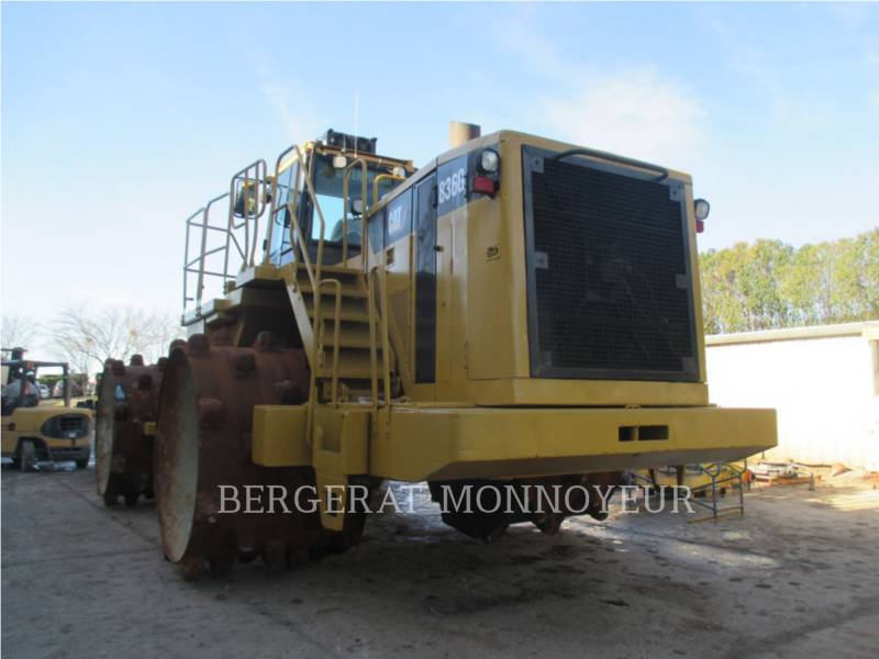 CATERPILLAR WHEEL DOZERS 836 equipment  photo 4