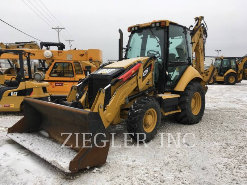 CATERPILLAR BACKHOE LOADERS 420FITH2 equipment  photo 3