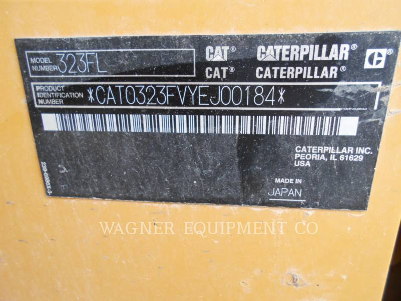 CATERPILLAR KOPARKI GĄSIENICOWE 323FL HMR equipment  photo 5