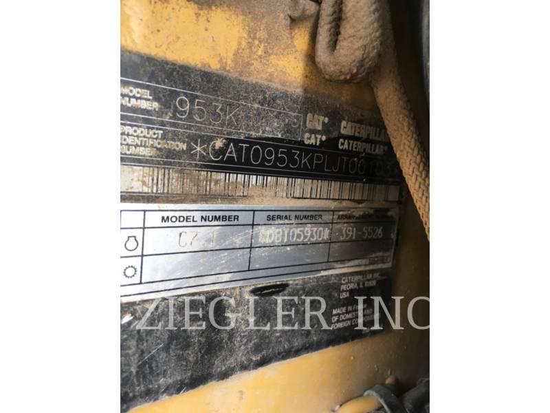 CATERPILLAR CARGADORES DE CADENAS 953K equipment  photo 6