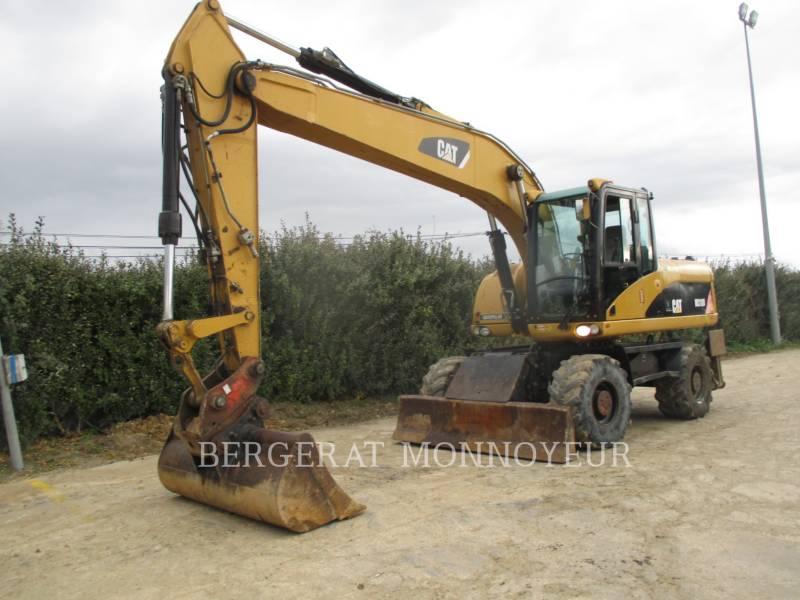 CATERPILLAR ESCAVADEIRAS DE RODAS M318D equipment  photo 14