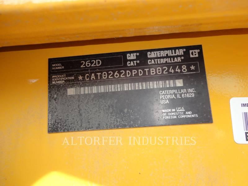 CATERPILLAR KOMPAKTLADER 262D equipment  photo 5