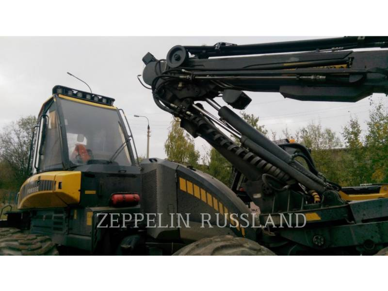 PONSSE LEŚNICTWO - HARVESTER ERGO 8W equipment  photo 16