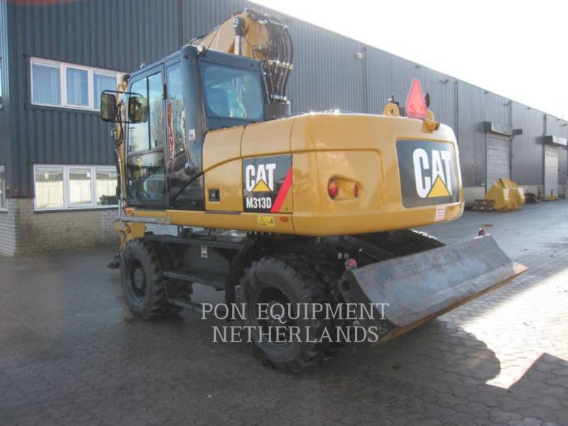 CATERPILLAR EXCAVADORAS DE RUEDAS M 313 D equipment  photo 6