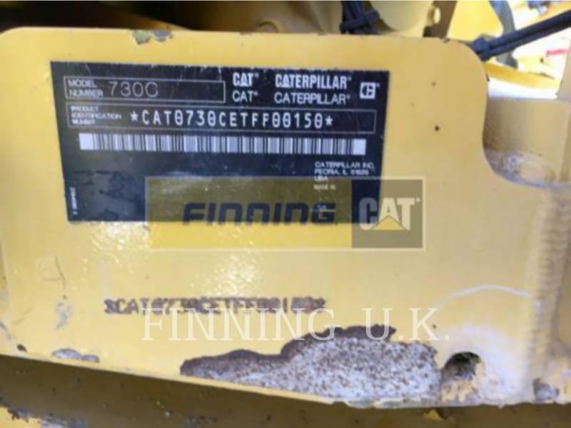 CATERPILLAR ARTICULATED TRUCKS 730C equipment  photo 1