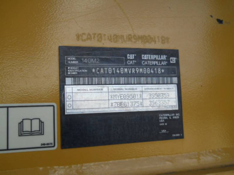 CATERPILLAR モータグレーダ 140M2 equipment  photo 24