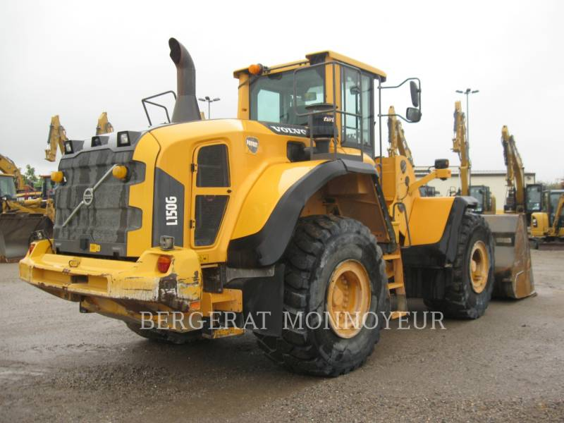VOLVO CONSTRUCTION EQUIPMENT CHARGEURS SUR PNEUS/CHARGEURS INDUSTRIELS L150G equipment  photo 3