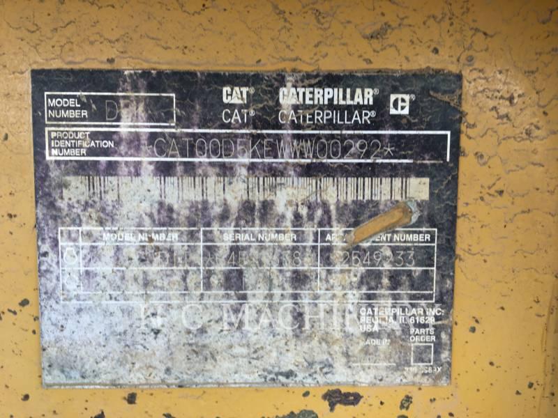 CATERPILLAR TRACK TYPE TRACTORS D5K XLCB equipment  photo 2