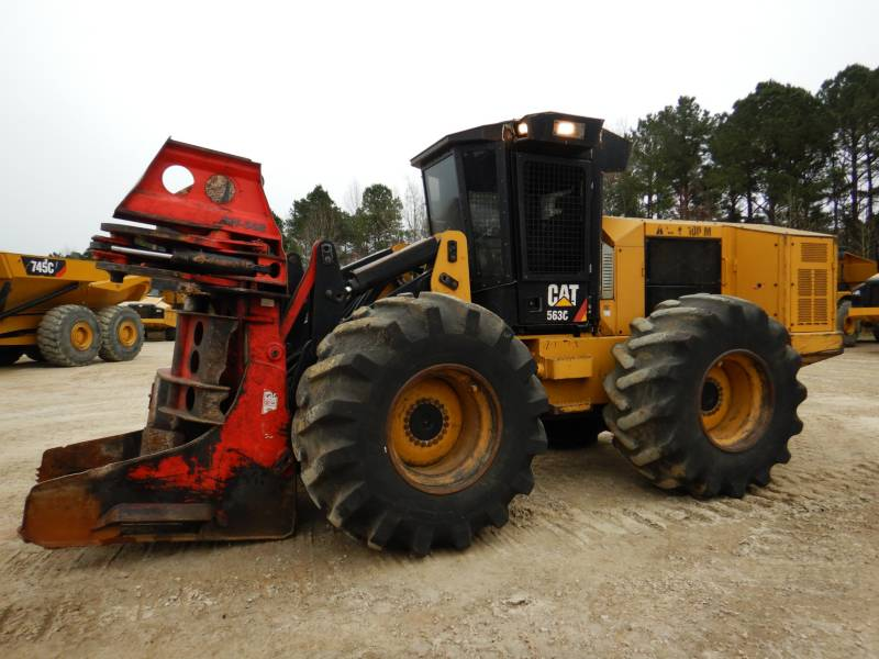 CATERPILLAR FORESTRY - FELLER BUNCHERS - WHEEL 563C equipment  photo 2
