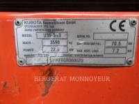 KUBOTA TRACTOR CORPORATION TRACK EXCAVATORS U35 equipment  photo 15