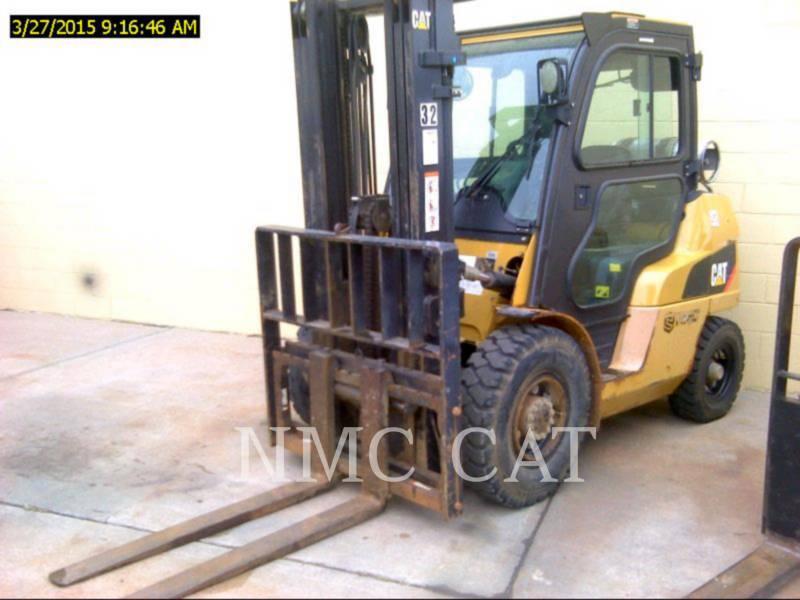 CATERPILLAR LIFT TRUCKS FORKLIFTS P8000_MC equipment  photo 1