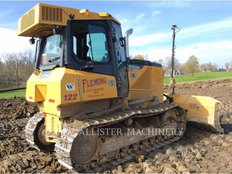 JOHN DEERE KETTENDOZER 650K XLT equipment  photo 3