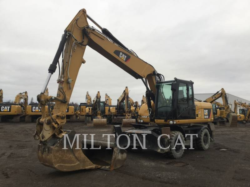 Caterpillar EXCAVATOARE PE ROŢI M318D equipment  photo 1