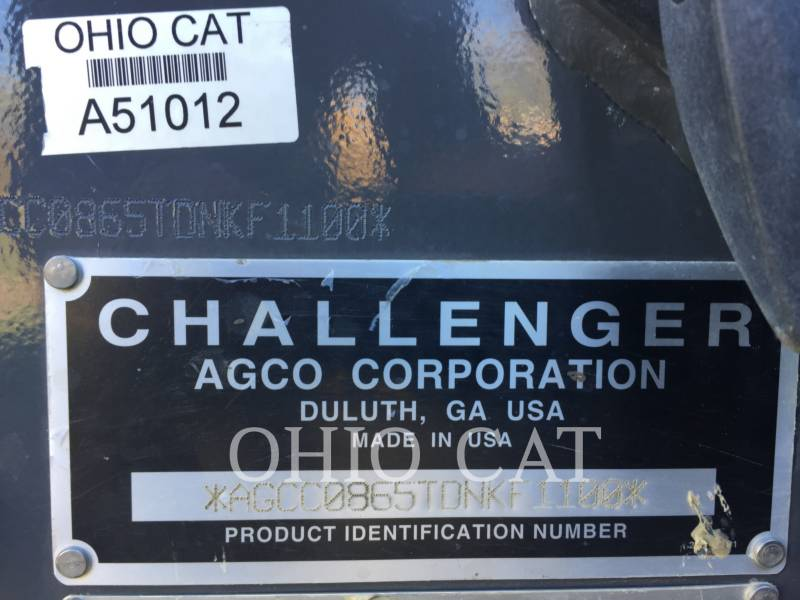 AGCO-CHALLENGER AG TRACTORS MTS865C equipment  photo 13