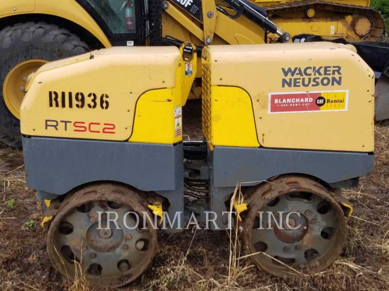 WACKER CORPORATION COMPACTORS RTSC2 equipment  photo 1