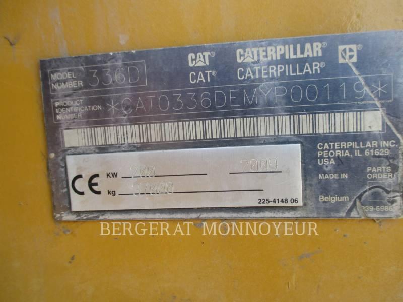 CATERPILLAR TRACK EXCAVATORS 336DLN equipment  photo 7