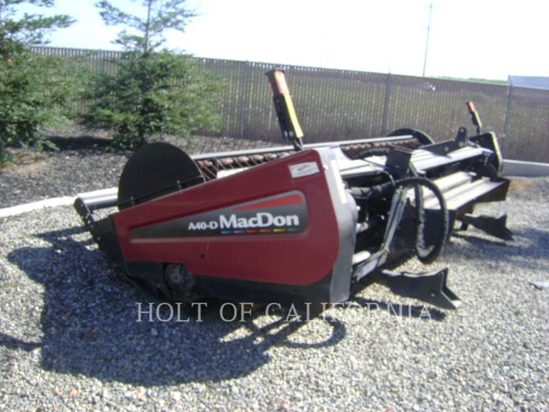 MACDON ANDAINEURS AG M205  GMH1099 equipment  photo 15