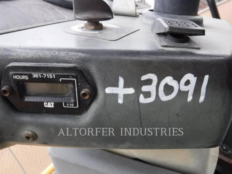 CATERPILLAR VIBRATORY DOUBLE DRUM ASPHALT CB54 equipment  photo 6