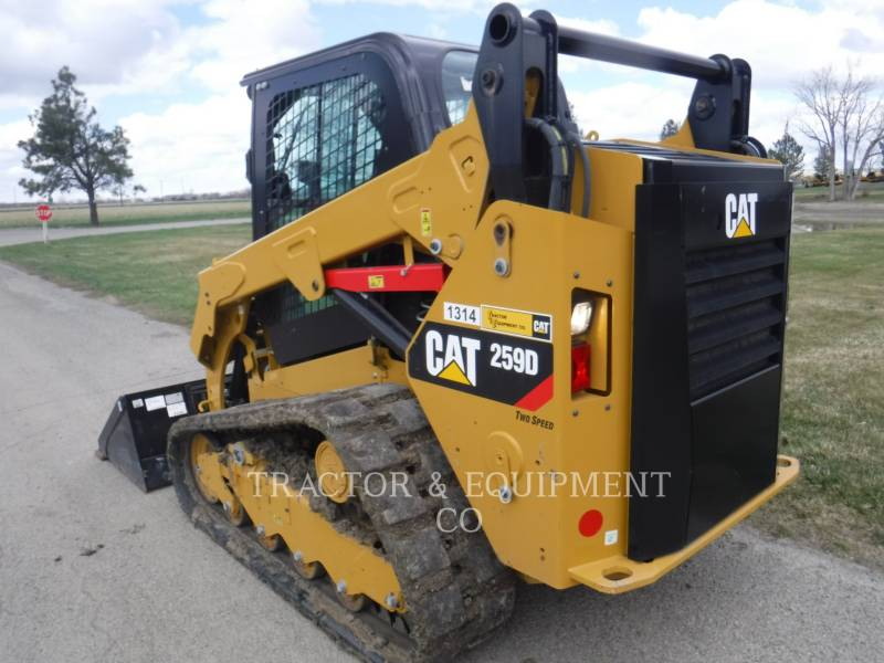 CATERPILLAR KOMPAKTLADER 259D H2CB equipment  photo 7