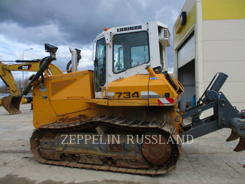 LIEBHERR TRACK TYPE TRACTORS PR 734 L LITRONIC equipment  photo 3