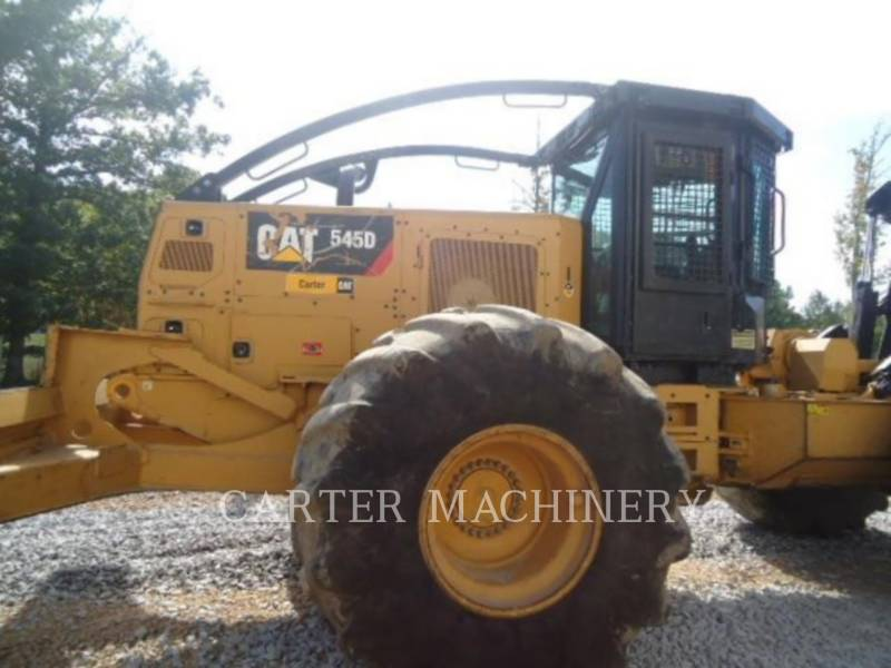 CATERPILLAR EXPLOITATION FORESTIÈRE - DÉBARDEURS 545D equipment  photo 2