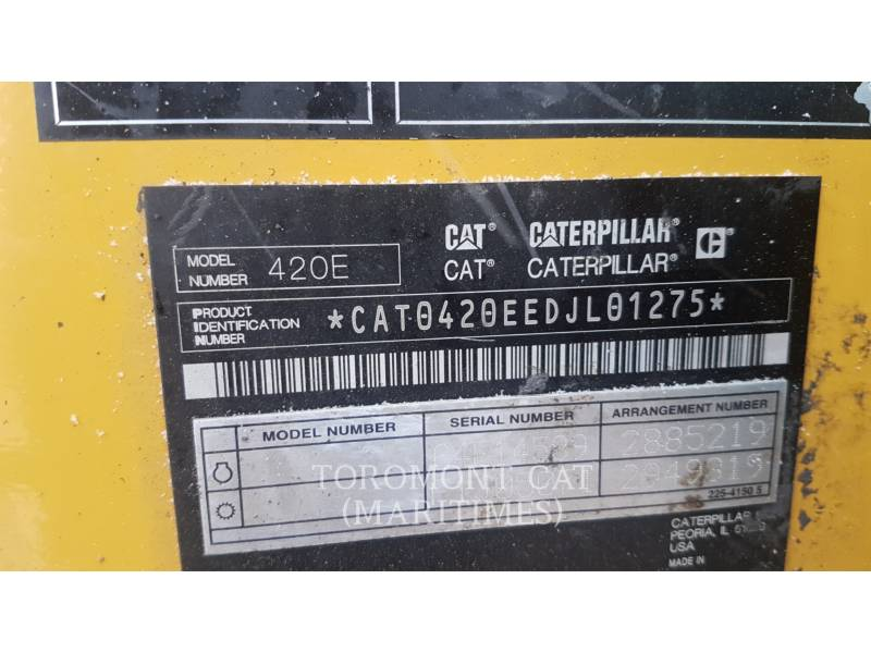 CATERPILLAR TERNE 420EST equipment  photo 5