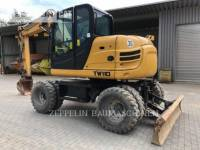 Equipment photo TEREX CORPORATION TW110 PELLES SUR PNEUS 1