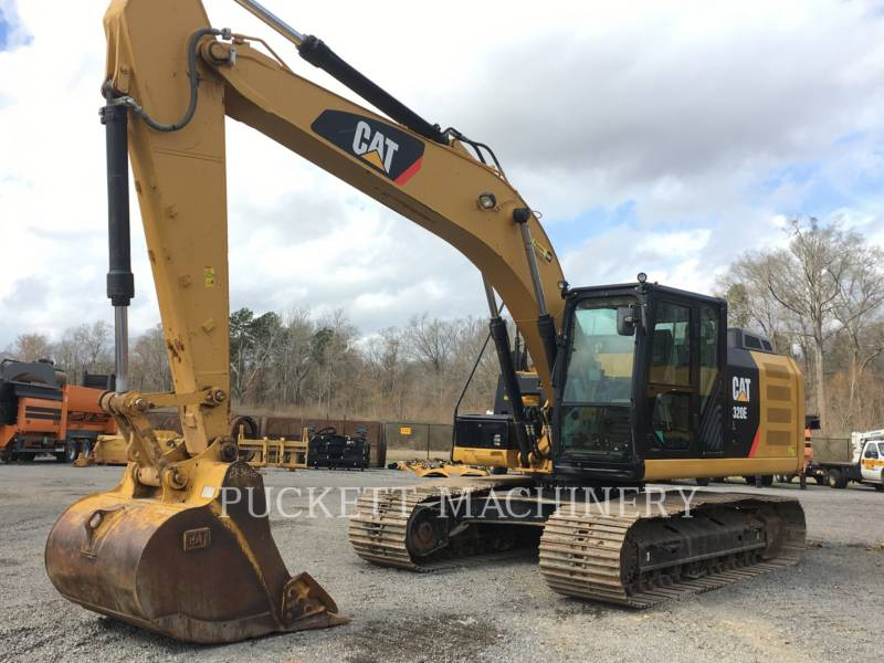 CATERPILLAR KETTEN-HYDRAULIKBAGGER 320EL equipment  photo 7